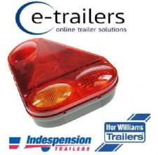 Genuine Radex 2900 RIGHT(OFF) SIDE Plug In Trailer Light Unit Indespension Ifor Williams